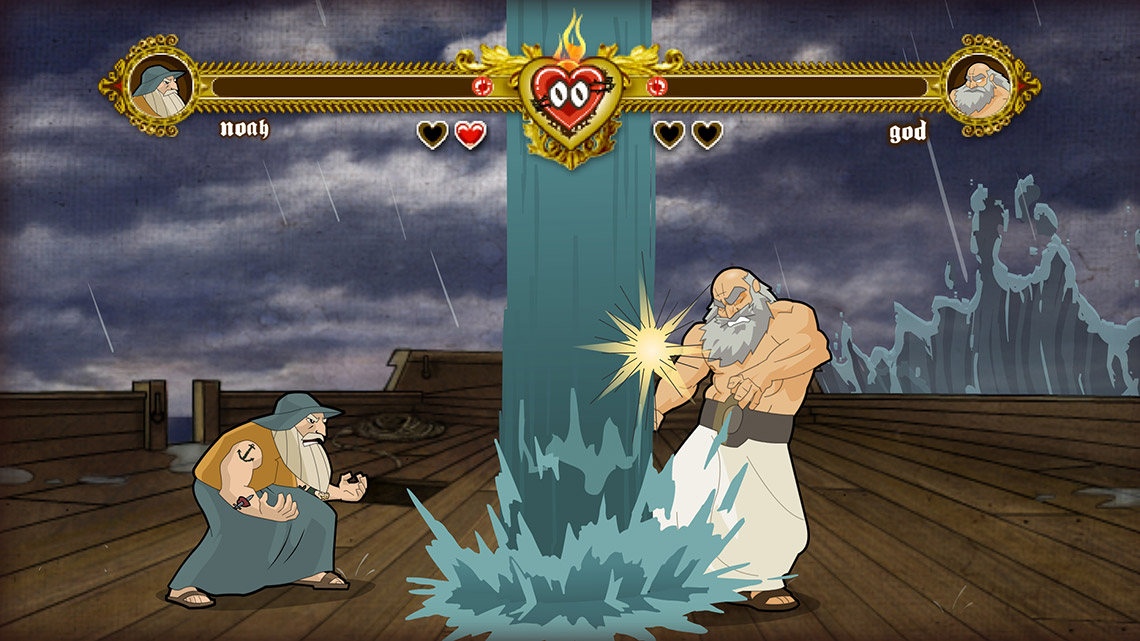 Bible Fight game