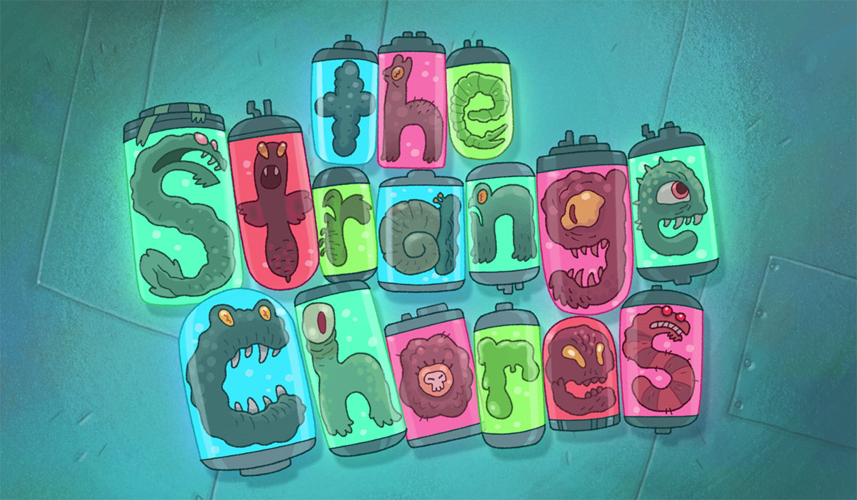 Strange Chores title screen